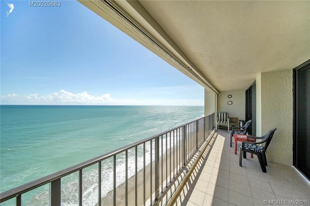 Photo of 8750 S Ocean Drive #PH-39, Jensen Beach, FL 34957 (MLS # M20025683)