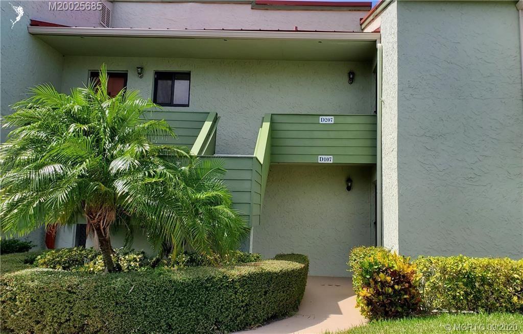 5443 SE Miles Grant Road #D207, Stuart, FL 34997 - #: M20025685