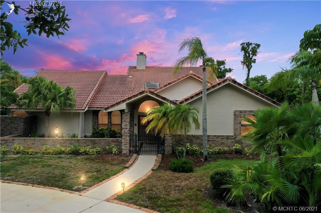 653 SW Thornhill Lane, Palm City, FL 34990 - #: M20029721