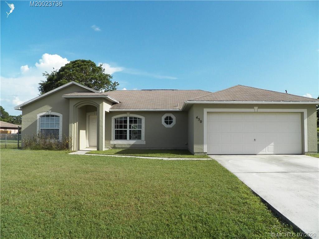 450 SW Exmore Avenue, Port Saint Lucie, FL 34983 - #: M20023736