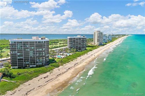 Photo of 8880 S Ocean Drive #203, Jensen Beach, FL 34957 (MLS # M20030755)