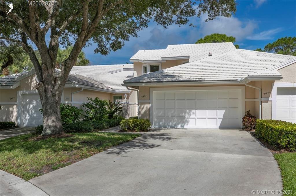 2442 SW Foxpoint Trail, Palm City, FL 34990 - MLS#: M20029755