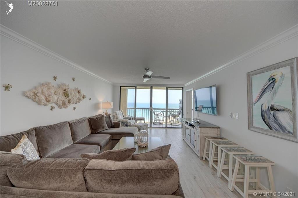Photo of 9550 S Ocean Drive #1407, Jensen Beach, FL 34957 (MLS # M20028761)