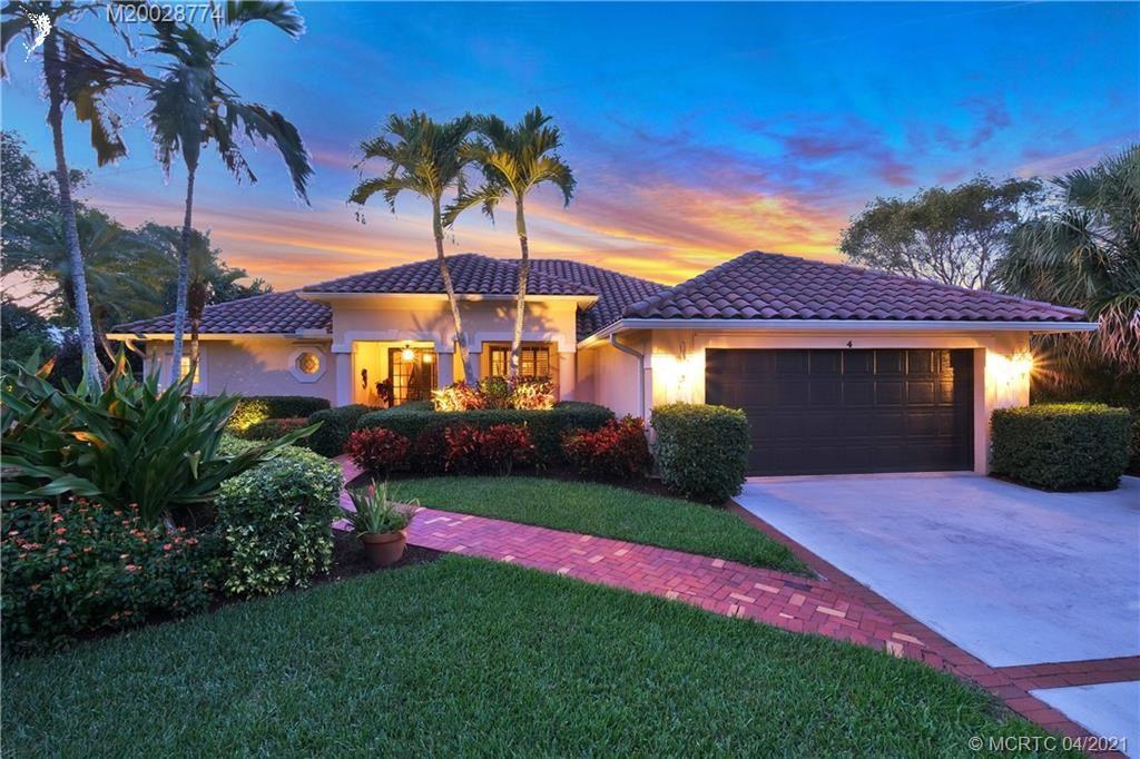 4 Ridgeland Drive, Stuart, FL 34996 - #: M20028774