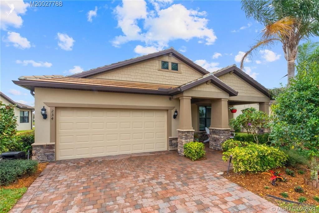 234 SE Courances Drive, Port Saint Lucie, FL 34984 - #: M20027788