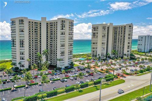Photo of 9500 S Ocean Drive #410, Jensen Beach, FL 34957 (MLS # M20024806)