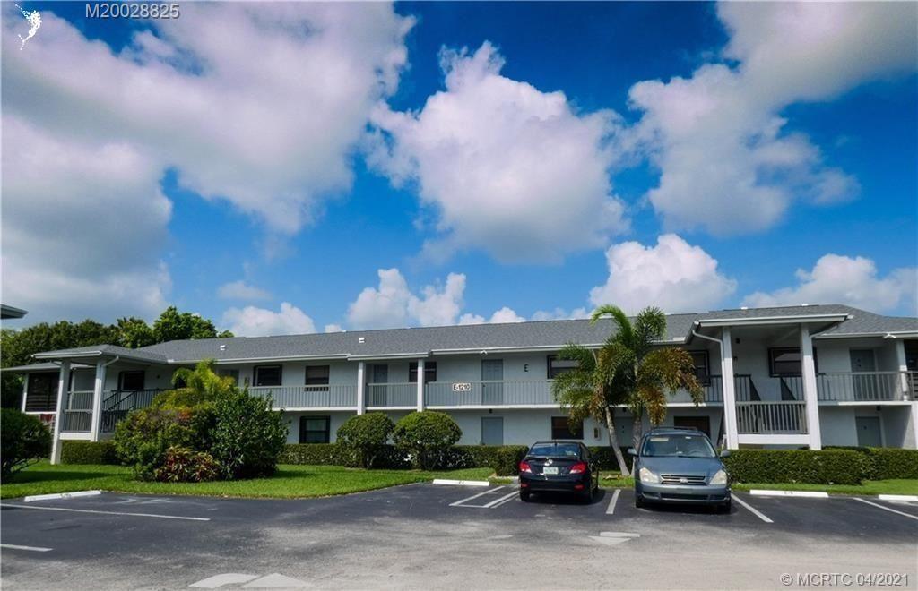 1210 SE Parkview Place #E8, Stuart, FL 34994 - #: M20028825
