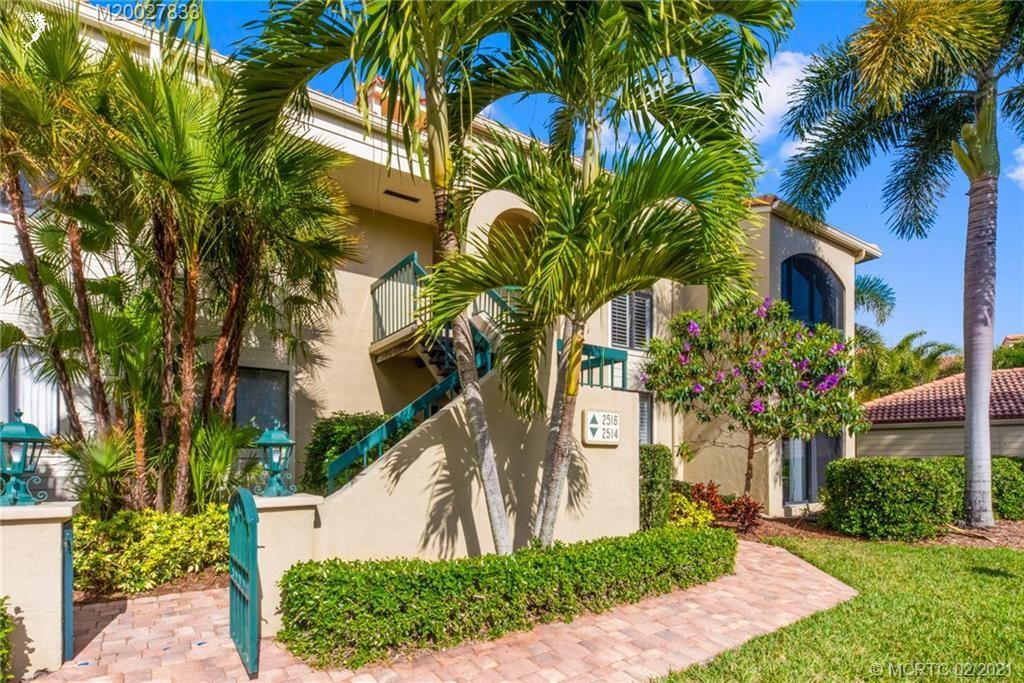 2516 NW Seagrass Drive #8B, Palm City, FL 34990 - #: M20027833