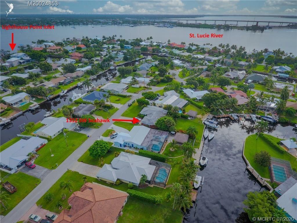 1352 SW Seahawk Way, Palm City, FL 34990 - #: M20024853
