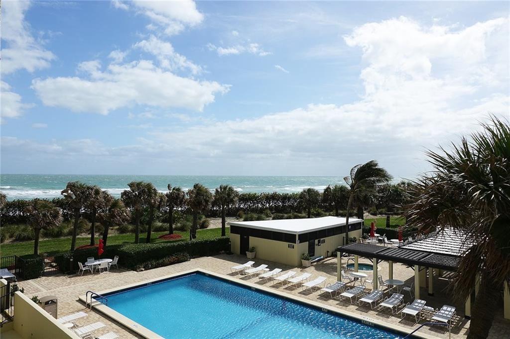Photo of 9500 S Ocean Drive #309, Jensen Beach, FL 34957 (MLS # M20022882)