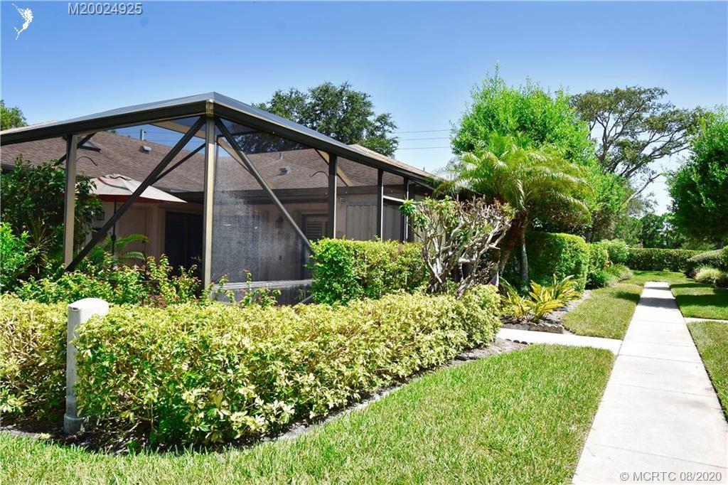 6280 SE Monticello Terrace #2-D, Hobe Sound, FL 33455 - #: M20024925