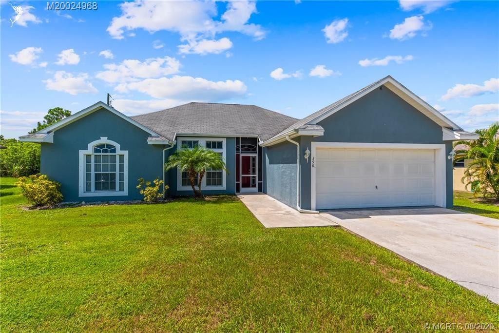 398 SW Ridgecrest Drive, Port Saint Lucie, FL 34953 - #: M20024968