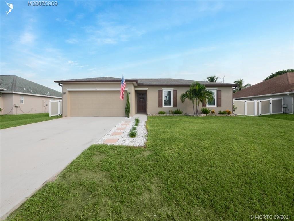941 SW Jeremko Avenue, Port Saint Lucie, FL 34953 - #: M20030969