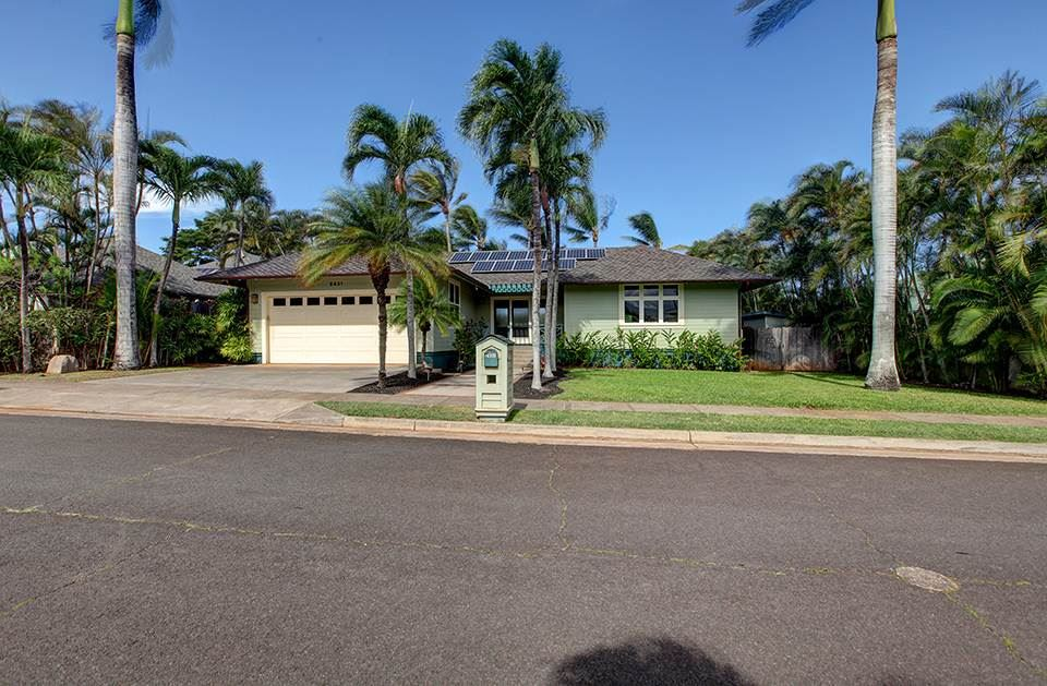 Photo of 2431 Waipua St, Paia, HI 96779 (MLS # 389348)