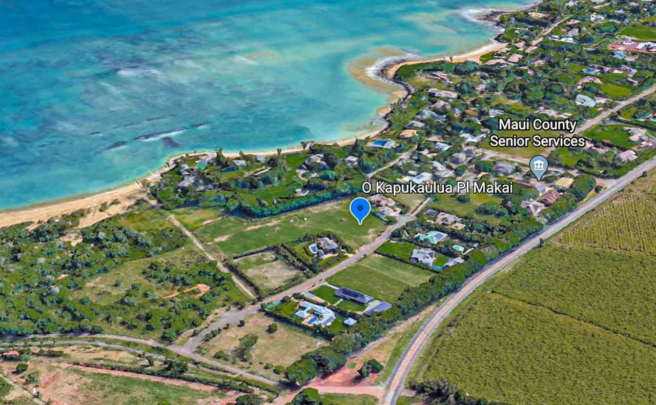 Photo of 0 Kapakaulua Makai Pl, Paia, HI 96779 (MLS # 388447)