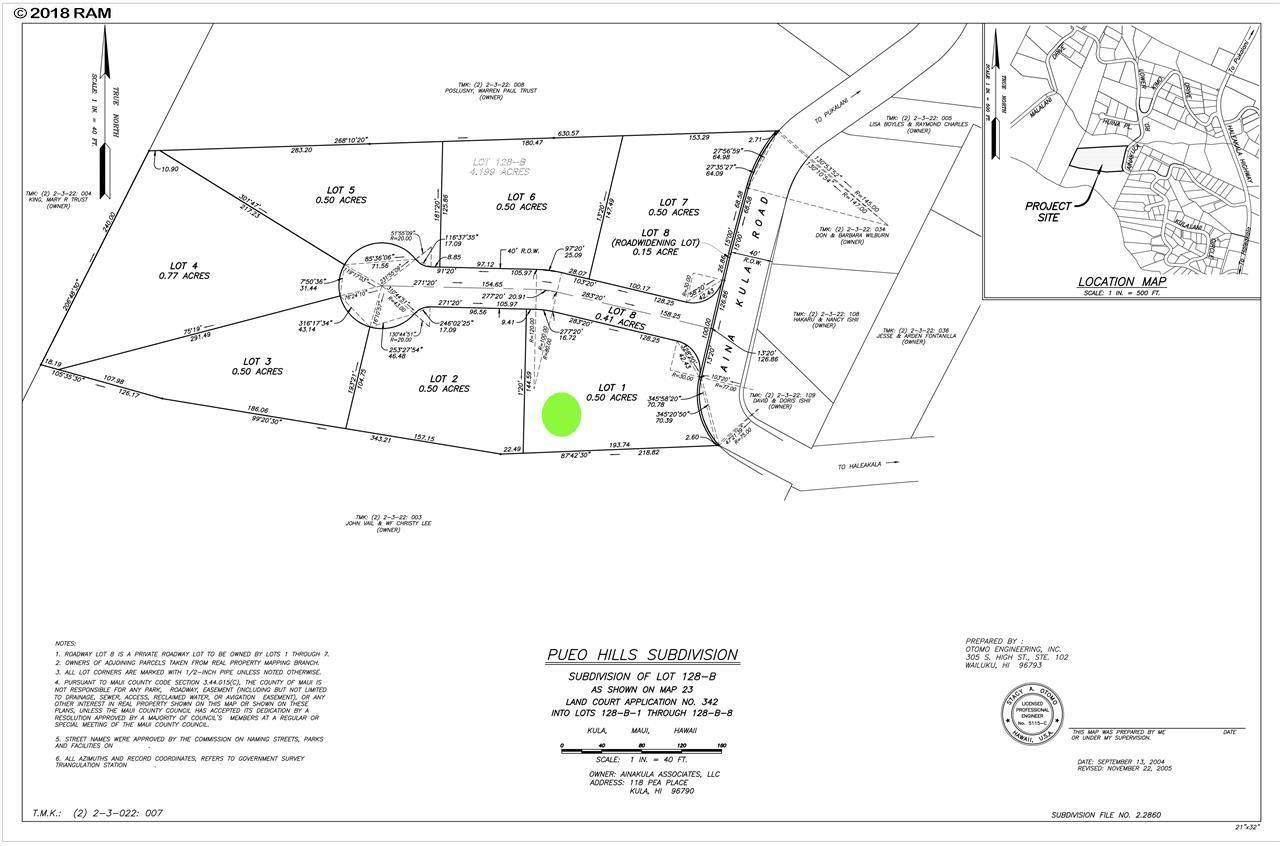 Photo of Ainakula Rd #Lot 1, Kula, HI 96790 (MLS # 377613)