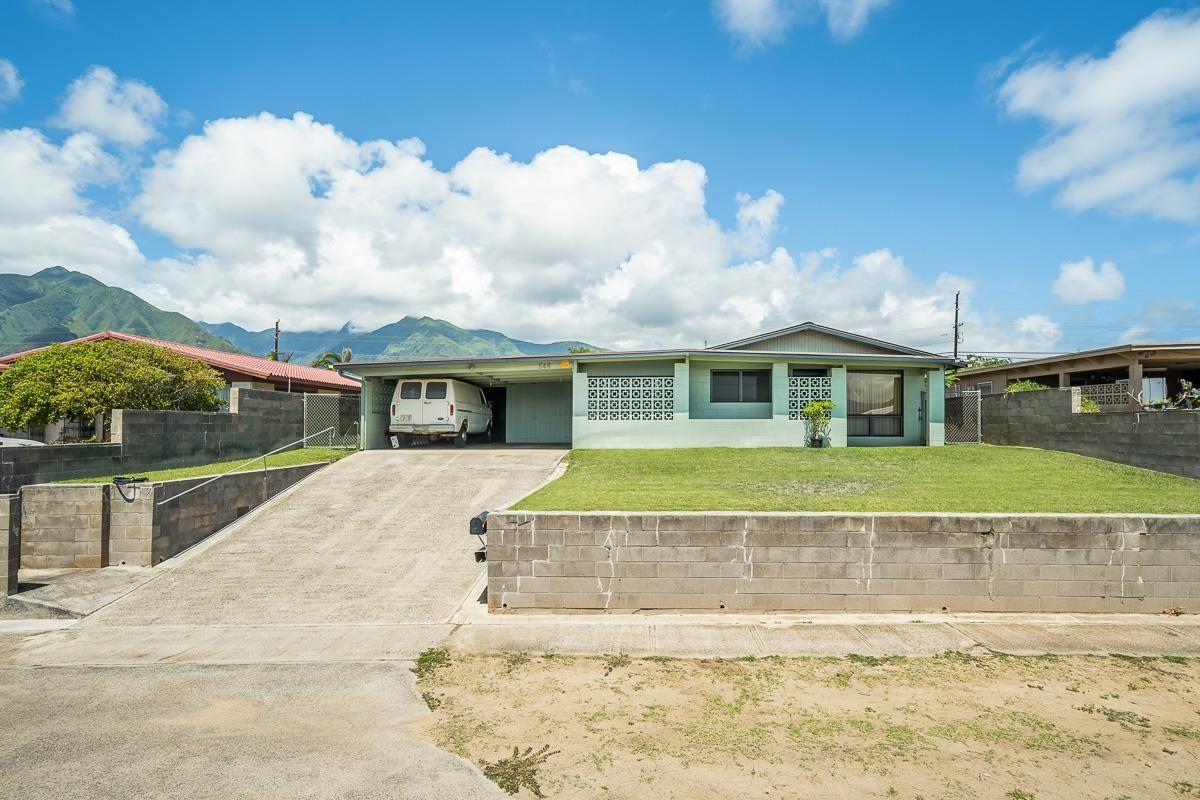 Photo of 548 Waikala St, Kahului, HI 96732 (MLS # 392873)