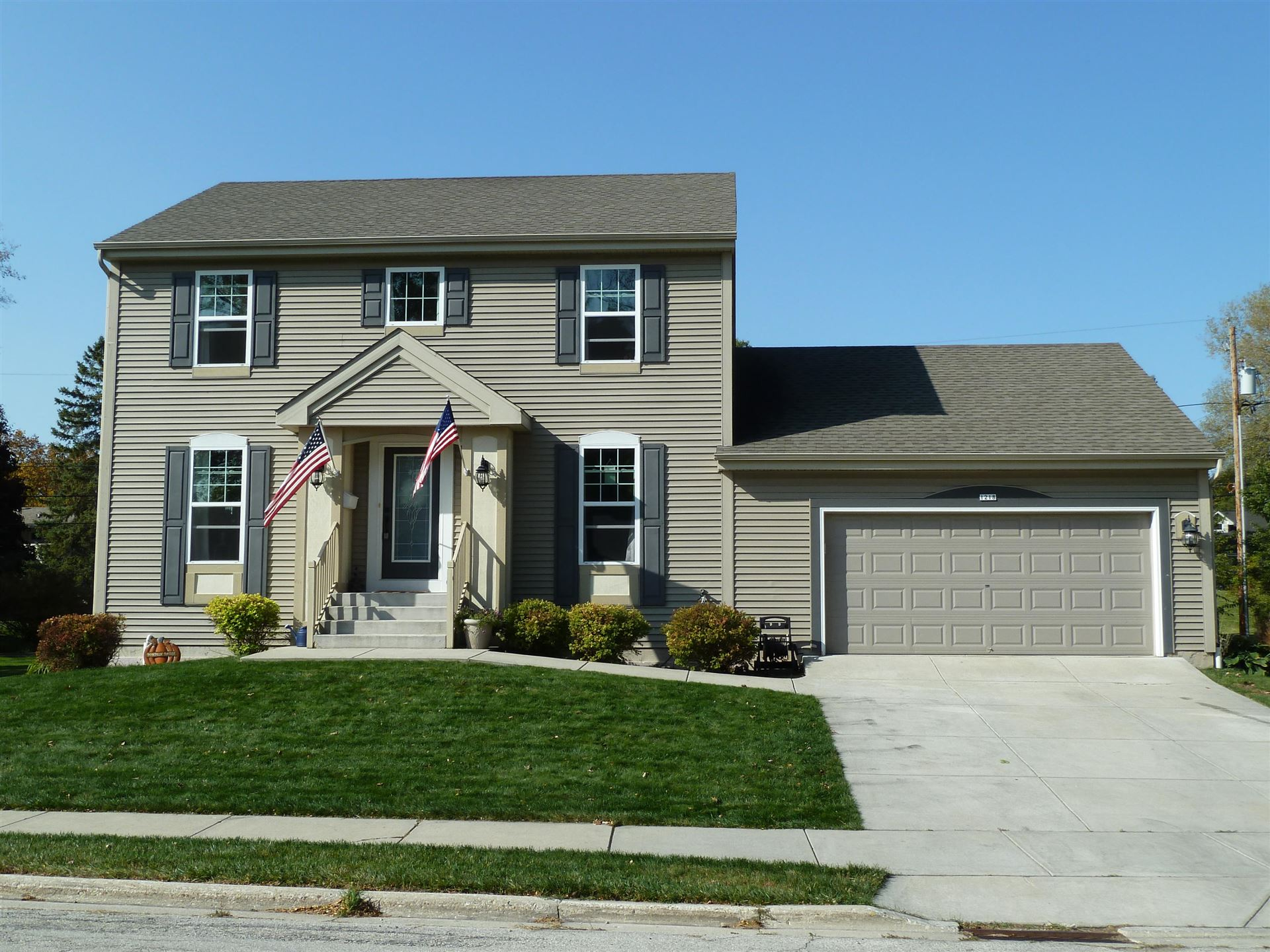 1218 N 11th Ave, West Bend, WI 53090 - #: 1714227