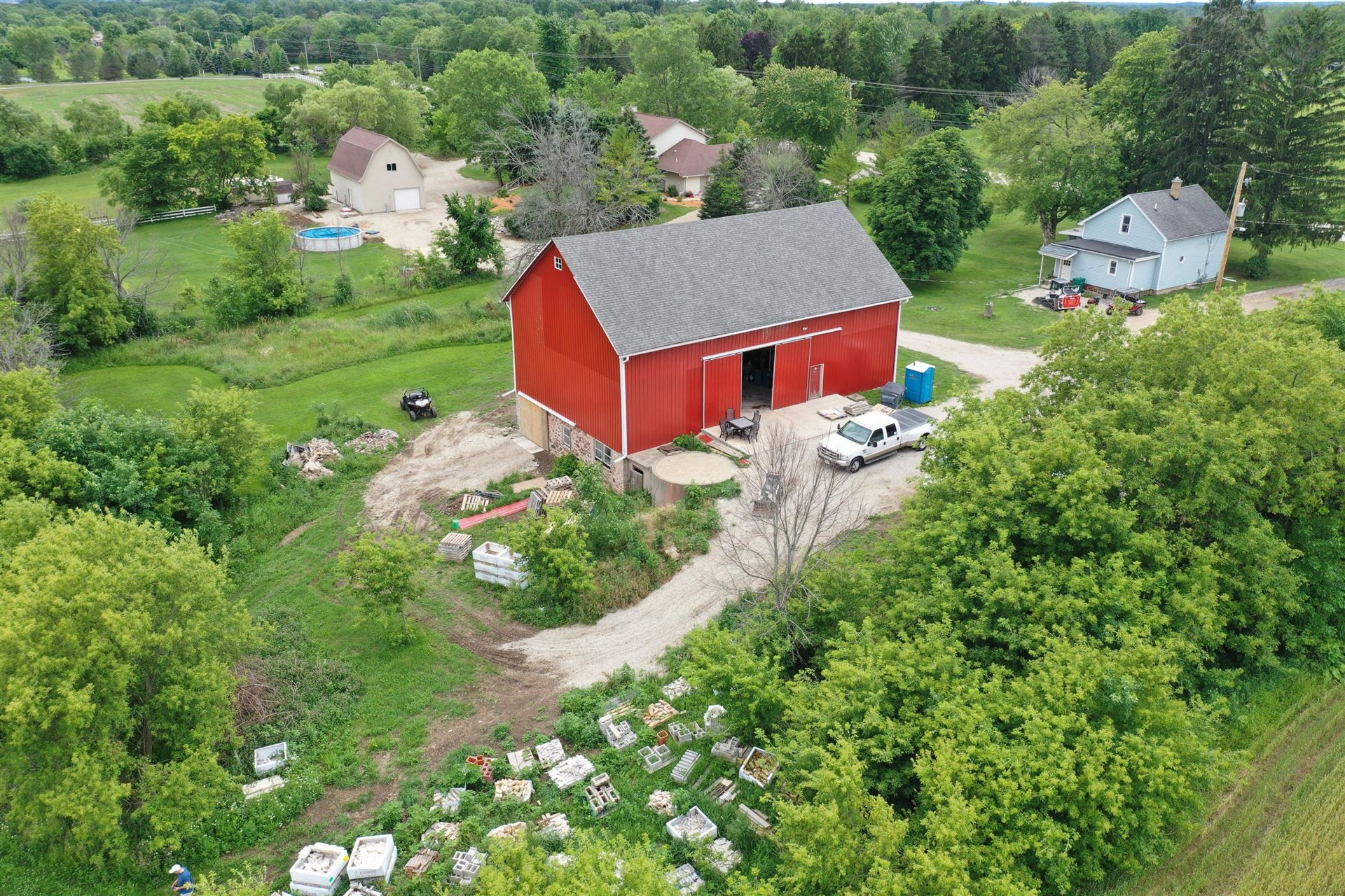 12428 N Wasaukee Rd, Mequon, WI 53097 - #: 1753285