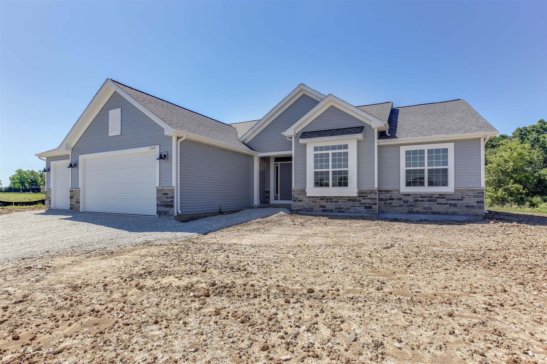 25845 76th PL #Lt62, Paddock Lake, WI 53168 - #: 1686296