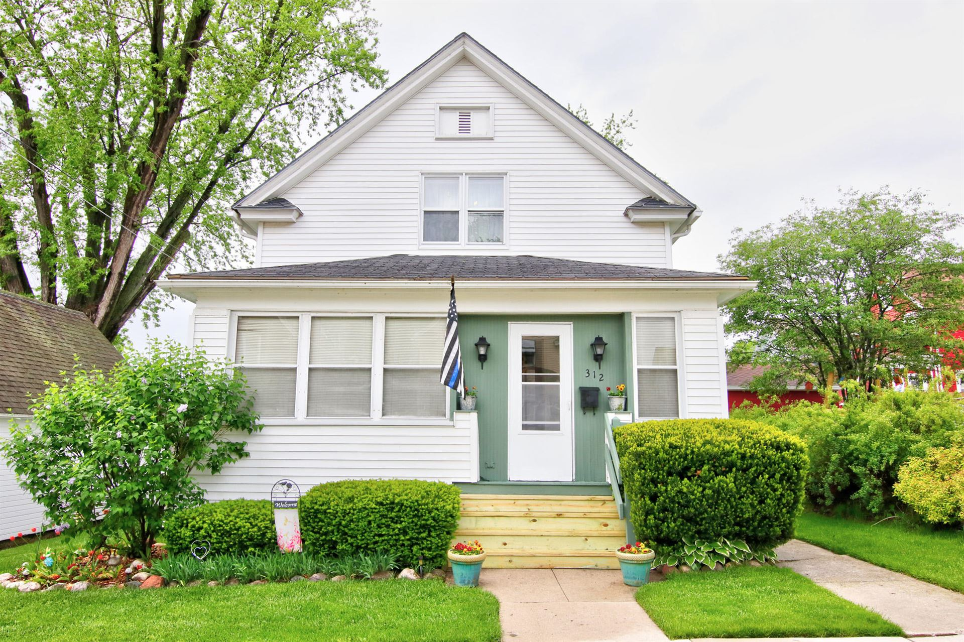 312 Mead AVE, Plymouth, WI 53073 - #: 1691502