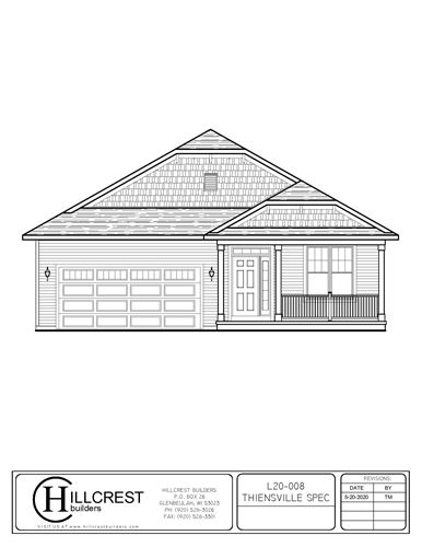 Photo of 114(Lot7) N Orchard St, Thiensville, WI 53092 (MLS # 1697601)