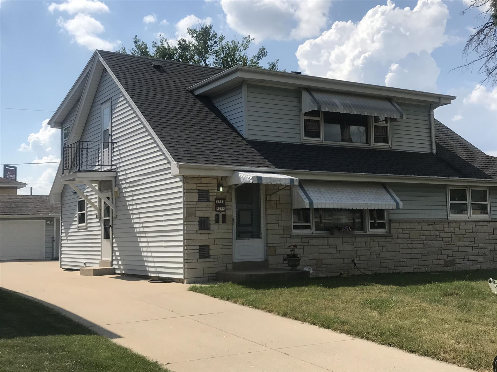 3755-57 S 58th, Milwaukee, WI 53220 - #: 1697647