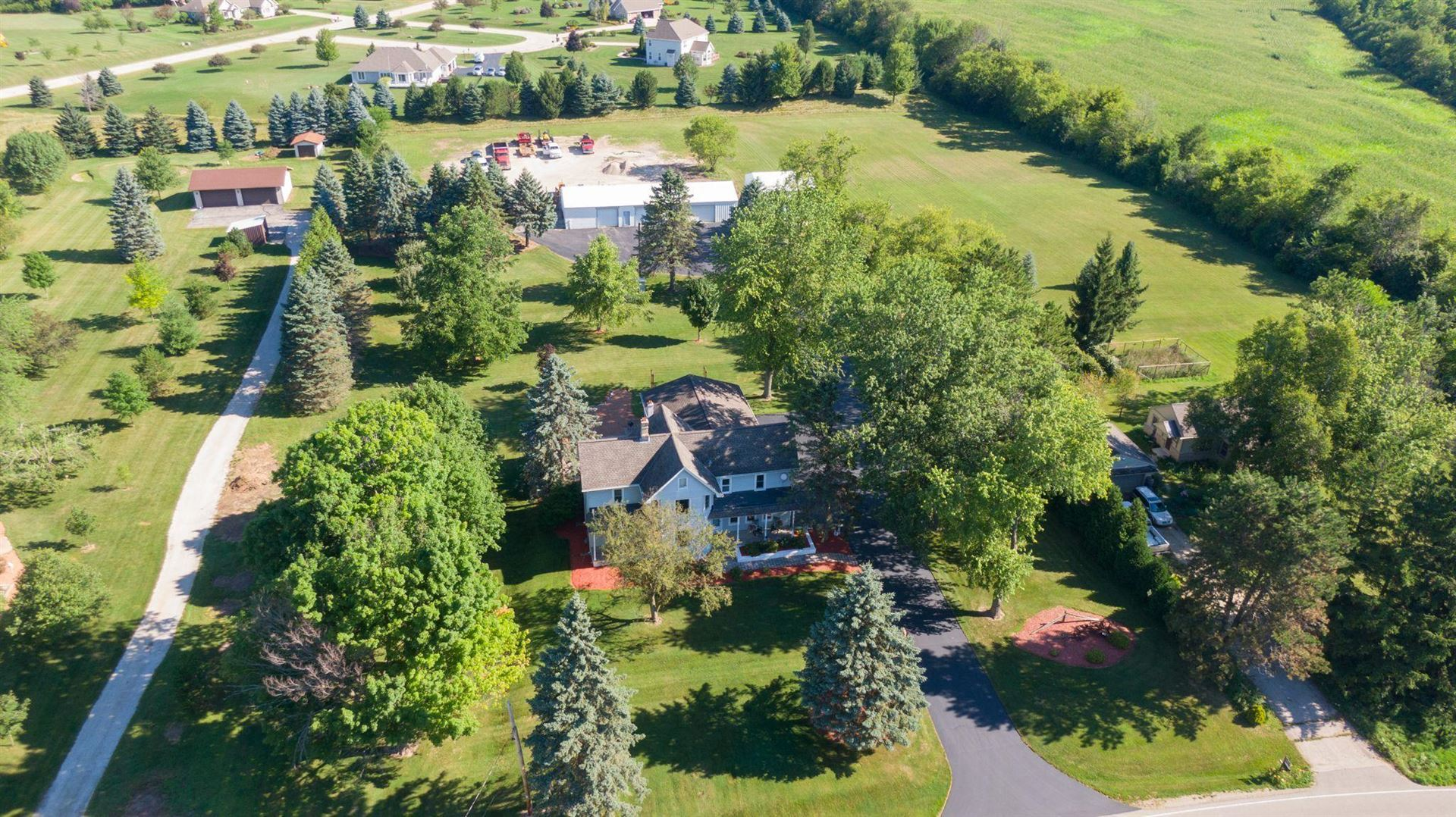 4600 Monches Rd, Richfield, WI 53017 - #: 1701820