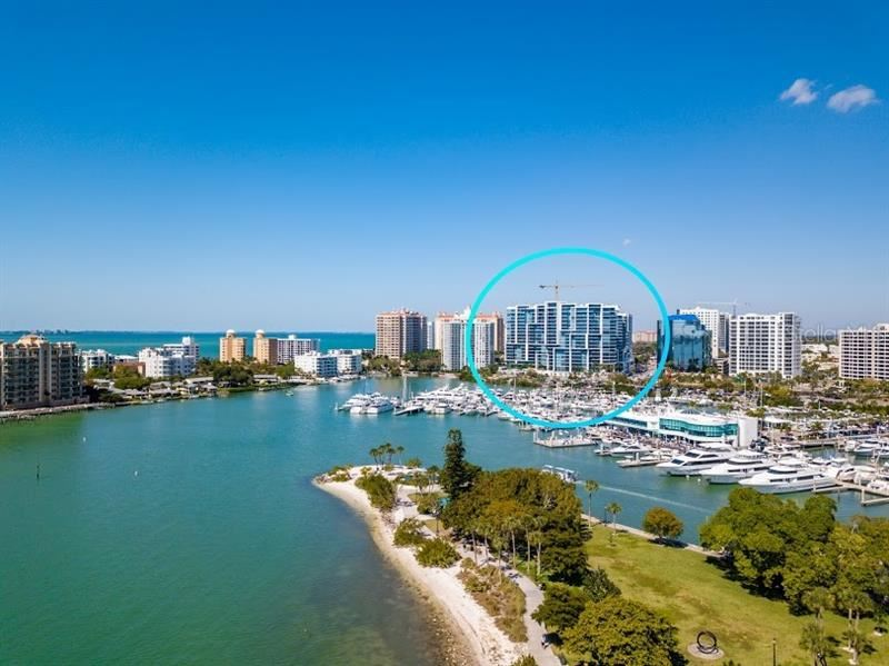 Photo of 1155 N GULFSTREAM AVENUE #1909, SARASOTA, FL 34236 (MLS # A4461040)