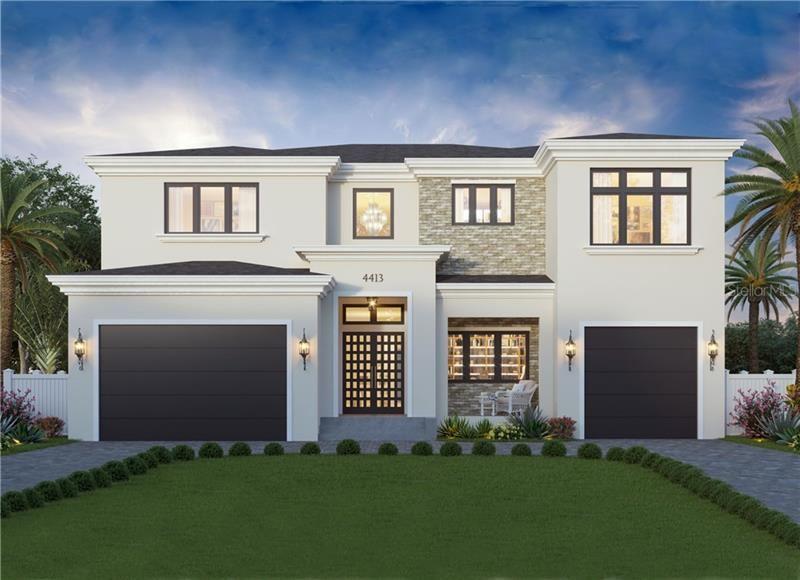4413 W Beach Park Drive, Tampa, FL 33609 - MLS#: T3199049