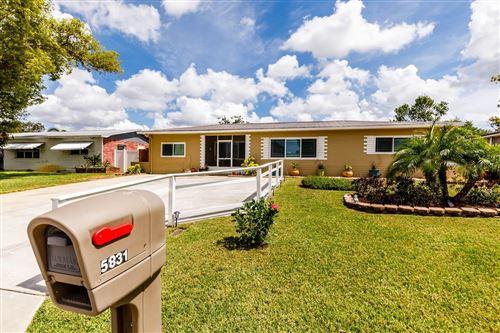 Photo of 5831 42ND AVENUE N, ST PETERSBURG, FL 33709 (MLS # T3312056)