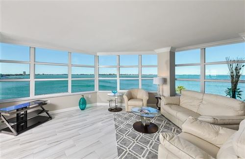 Photo of 888 BLVD OF THE ARTS #804, SARASOTA, FL 34236 (MLS # A4459077)