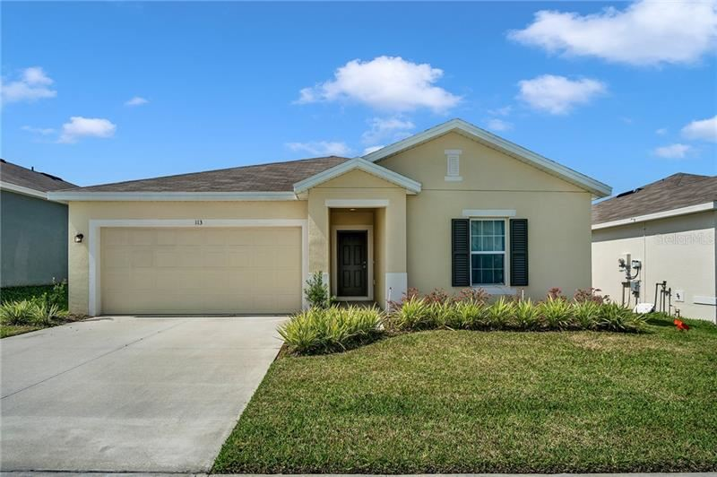 113 TANAGER STREET, Haines City, FL 33844 - #: O5928096