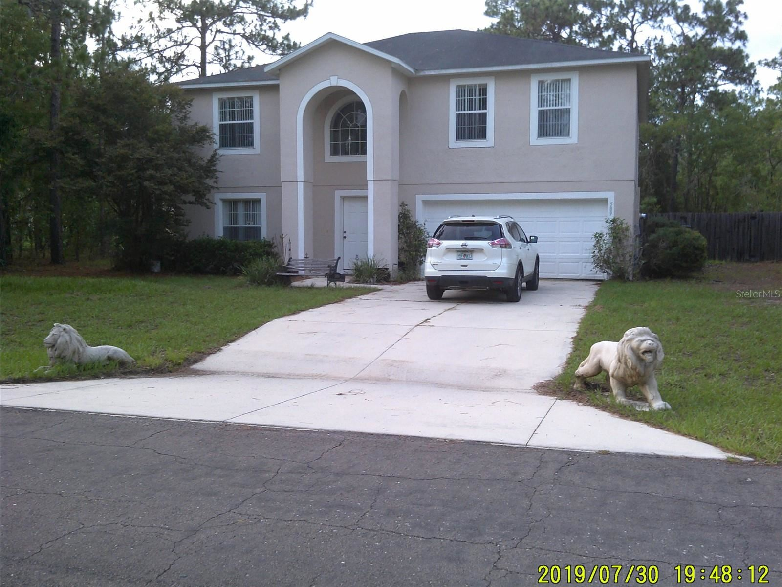 589 W GLENHAVEN DRIVE, Citrus Springs, FL 34434 - #: OM622115