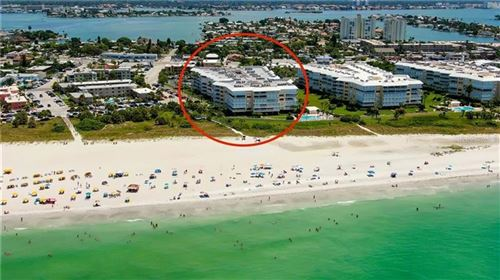 Photo of 6650 SUNSET WAY #107, ST PETE BEACH, FL 33706 (MLS # U8105170)