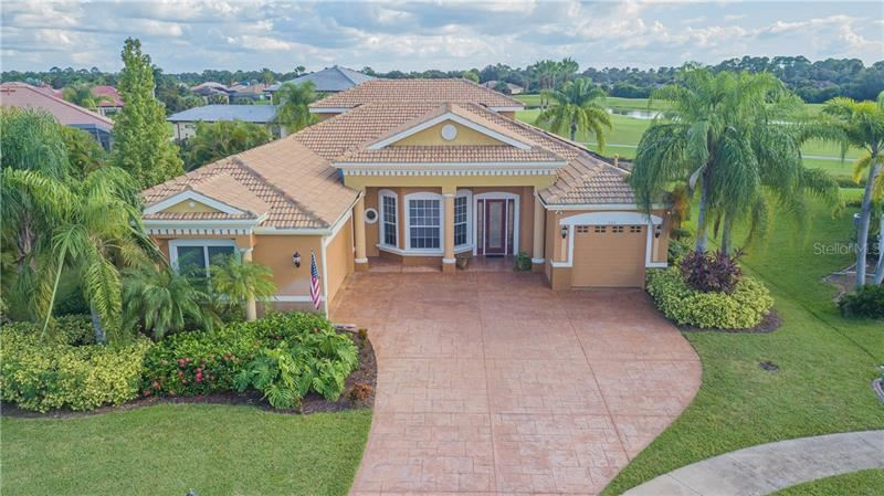Photo of 3332 BAILEY PALM COURT, NORTH PORT, FL 34288 (MLS # C7435183)