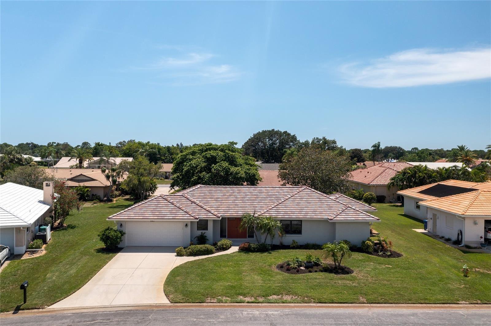 Photo of 443 FIRETHORN AVENUE, ENGLEWOOD, FL 34223 (MLS # D6120203)