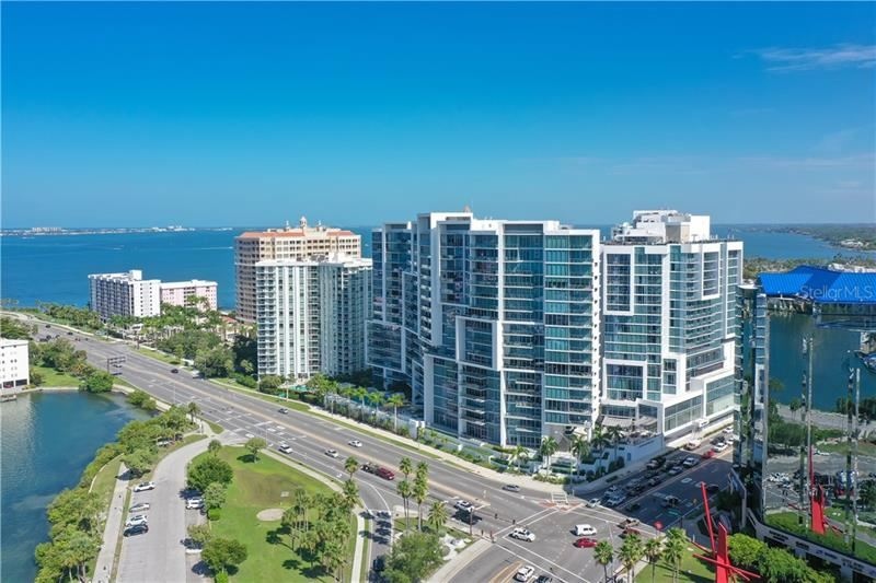 Photo of 1155 N GULFSTREAM AVENUE #702, SARASOTA, FL 34236 (MLS # A4474235)