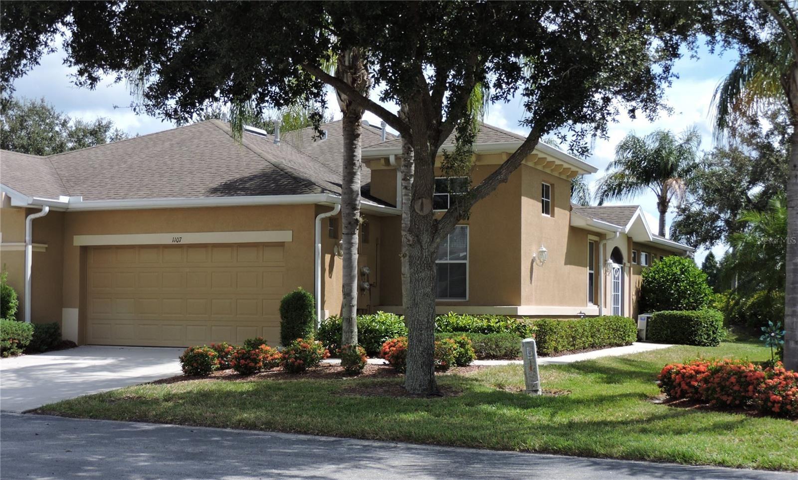 1107 JAMESON GREENS DRIVE, Sun City Center, FL 33573 - #: T3334262