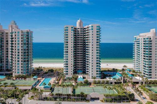 Photo of 1540 GULF BOULEVARD #1206, CLEARWATER BEACH, FL 33767 (MLS # U8139279)