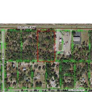 Photo of 0 COUNTY LINE ROAD, SPRING HILL, FL 34610 (MLS # W7816298)