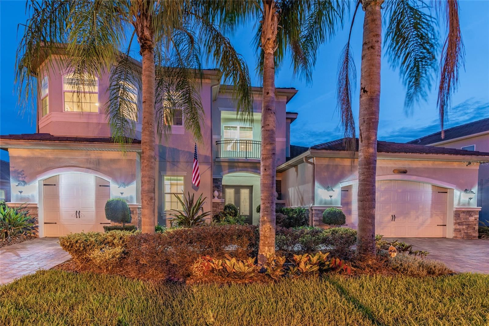 Photo of 2745 COCO PALM CIRCLE, WESLEY CHAPEL, FL 33543 (MLS # T3312301)