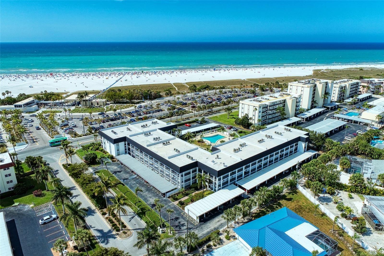 Photo of 5600 BEACH WAY DRIVE #115, SARASOTA, FL 34242 (MLS # A4508336)