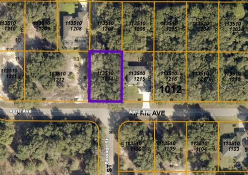 Photo of APRIL AVENUE, NORTH PORT, FL 34288 (MLS # A4485352)