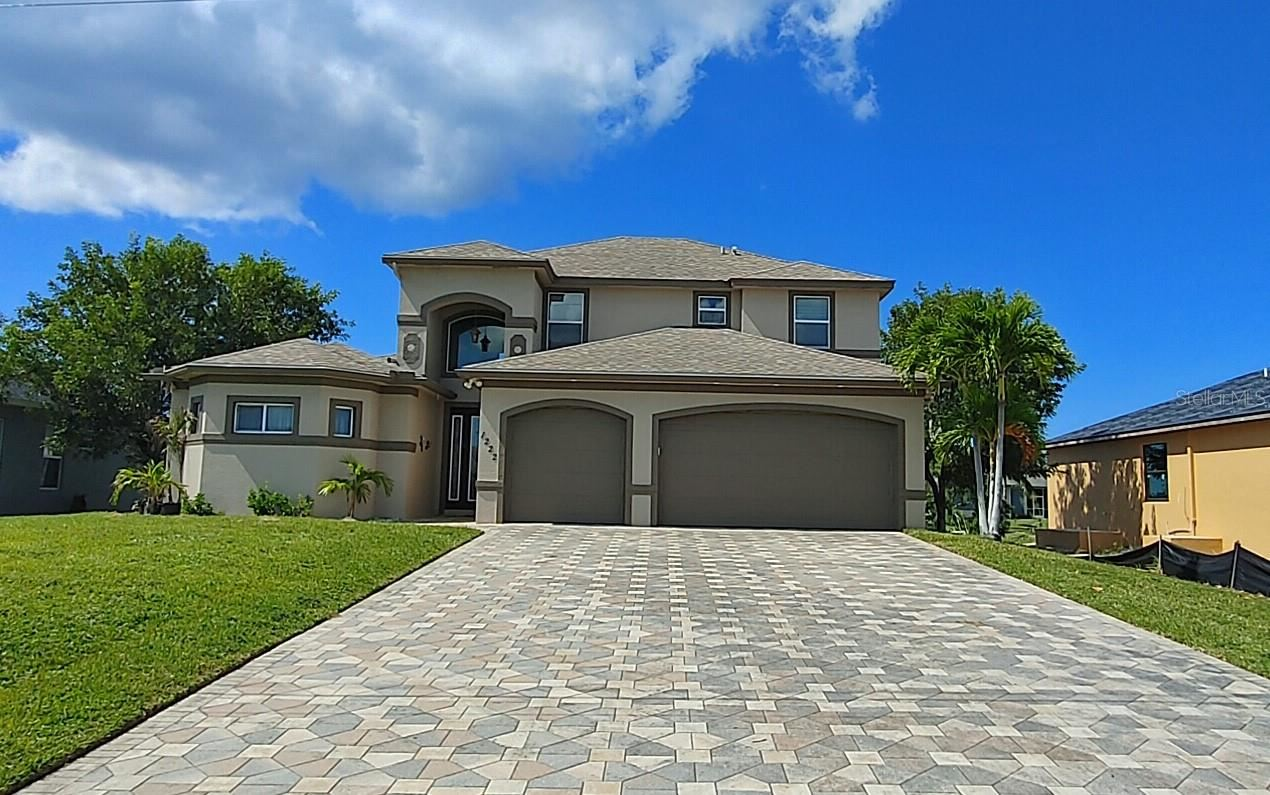 1222 NW 38TH PLACE, Cape Coral, FL 33993 - #: C7446375