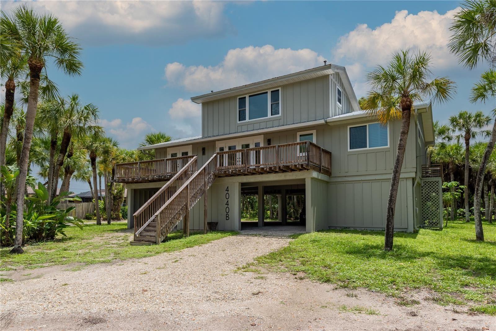 Photo of 4040 N BEACH ROAD #B, ENGLEWOOD, FL 34223 (MLS # C7446377)
