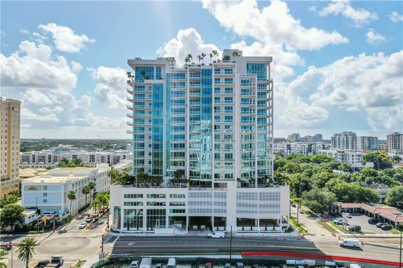 Photo of 1224 BLVD OF THE ARTS #1203, SARASOTA, FL 34236 (MLS # A4429393)