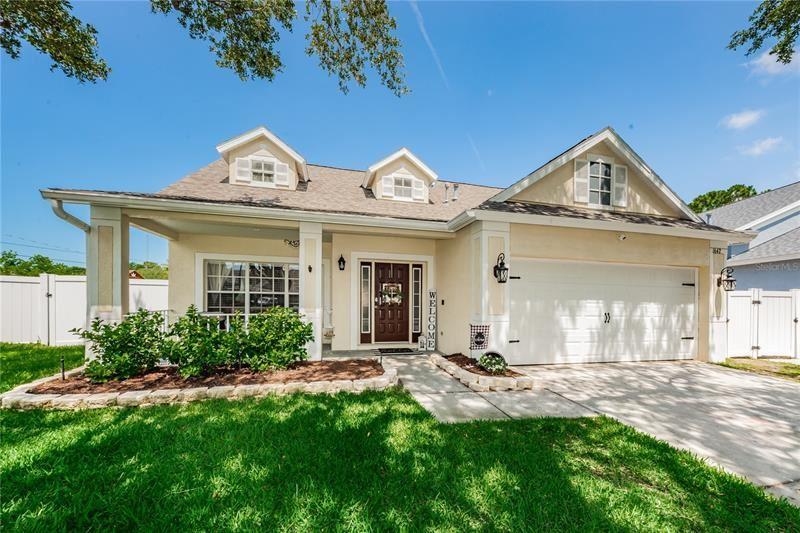 1642 MEADOW OAK LANE, Tarpon Springs, FL 34689 - MLS#: U8122399
