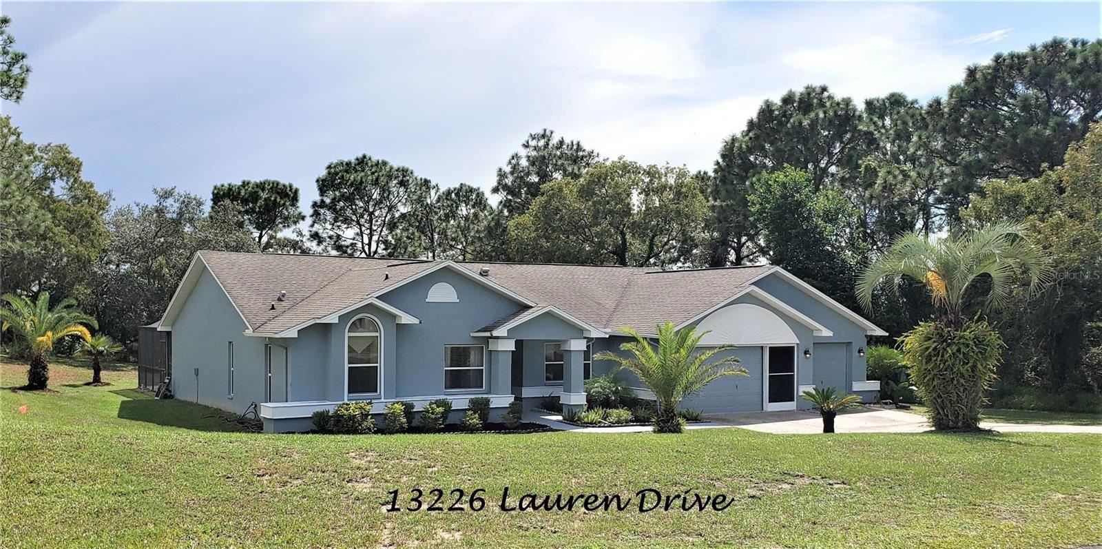 13226 LAUREN DRIVE, Spring Hill, FL 34609 - #: U8136408