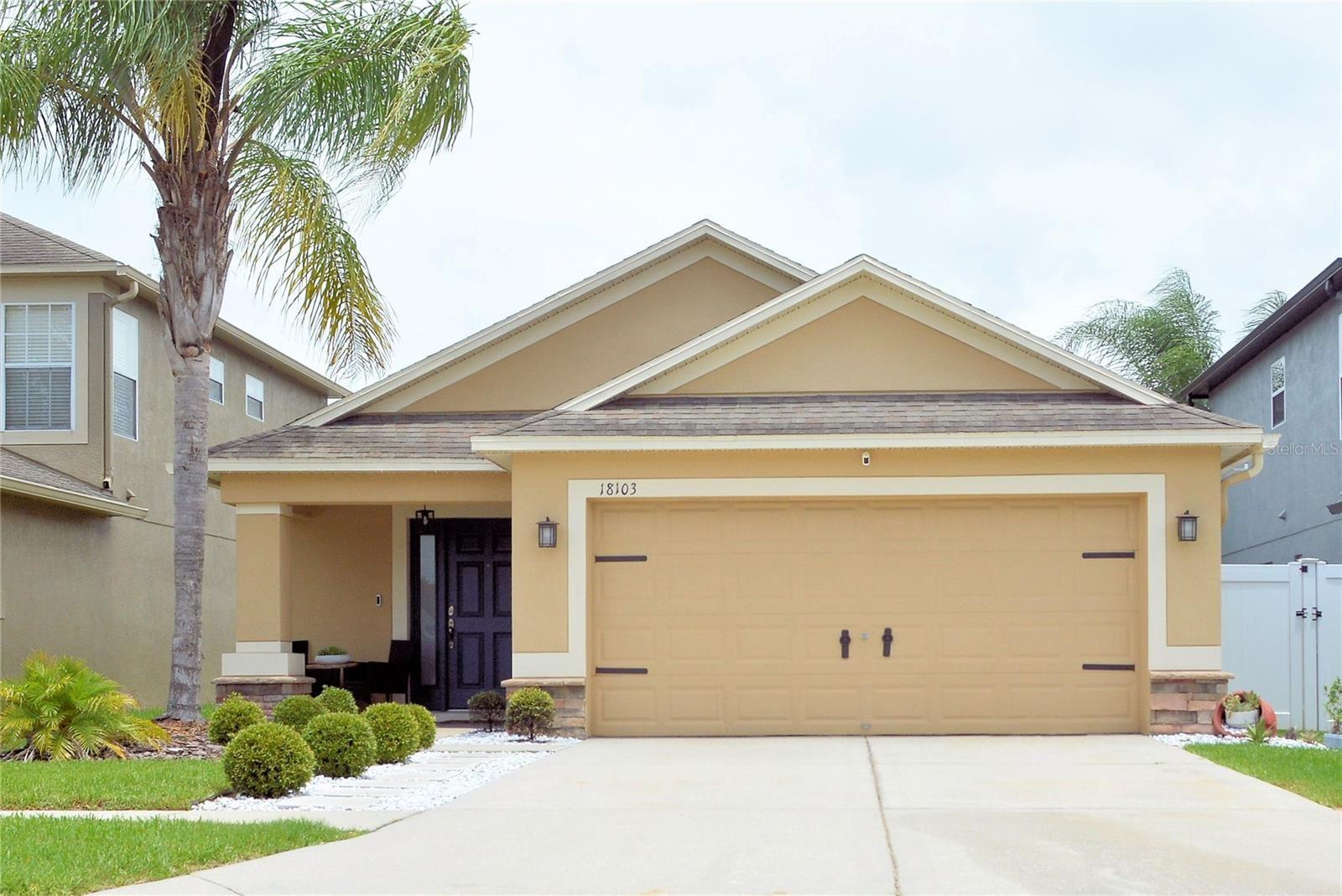 18103 GLASTONBURY LANE, Land O Lakes, FL 34638 - MLS#: U8129450